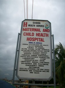 maternal health sign