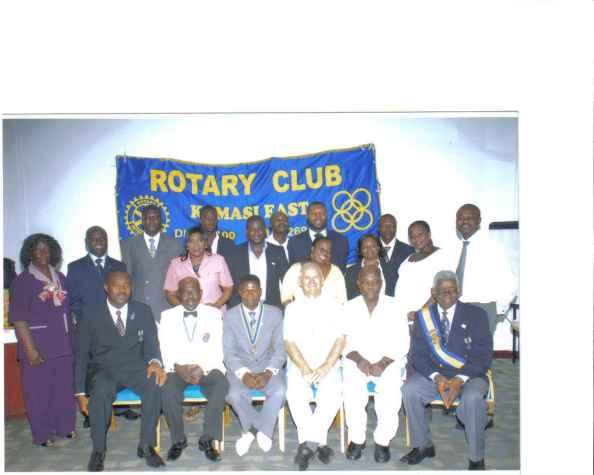 KUMASI EAST ROTARY CLUB, JUNE 24, 2009