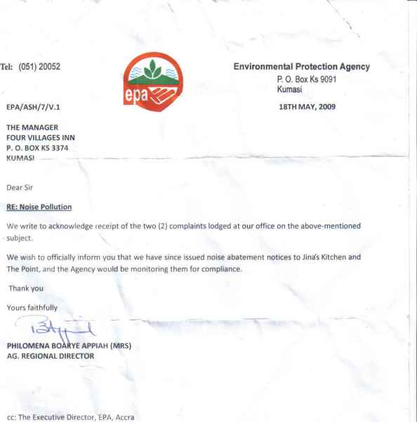 EPA letter-monitoring-May 18, 2009
