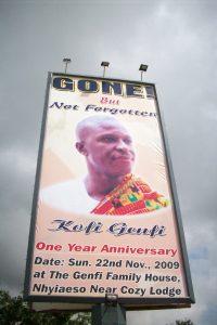 Giant Billboard in Kumasi