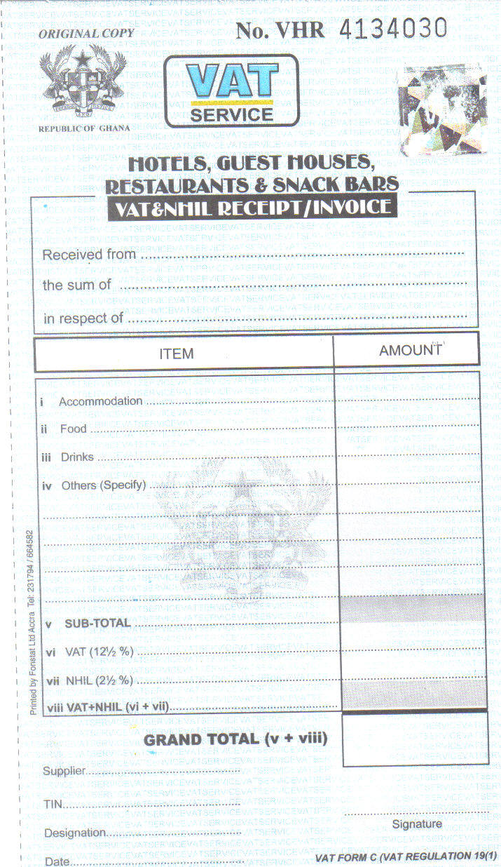 get your vat receipt and help reduce poverty