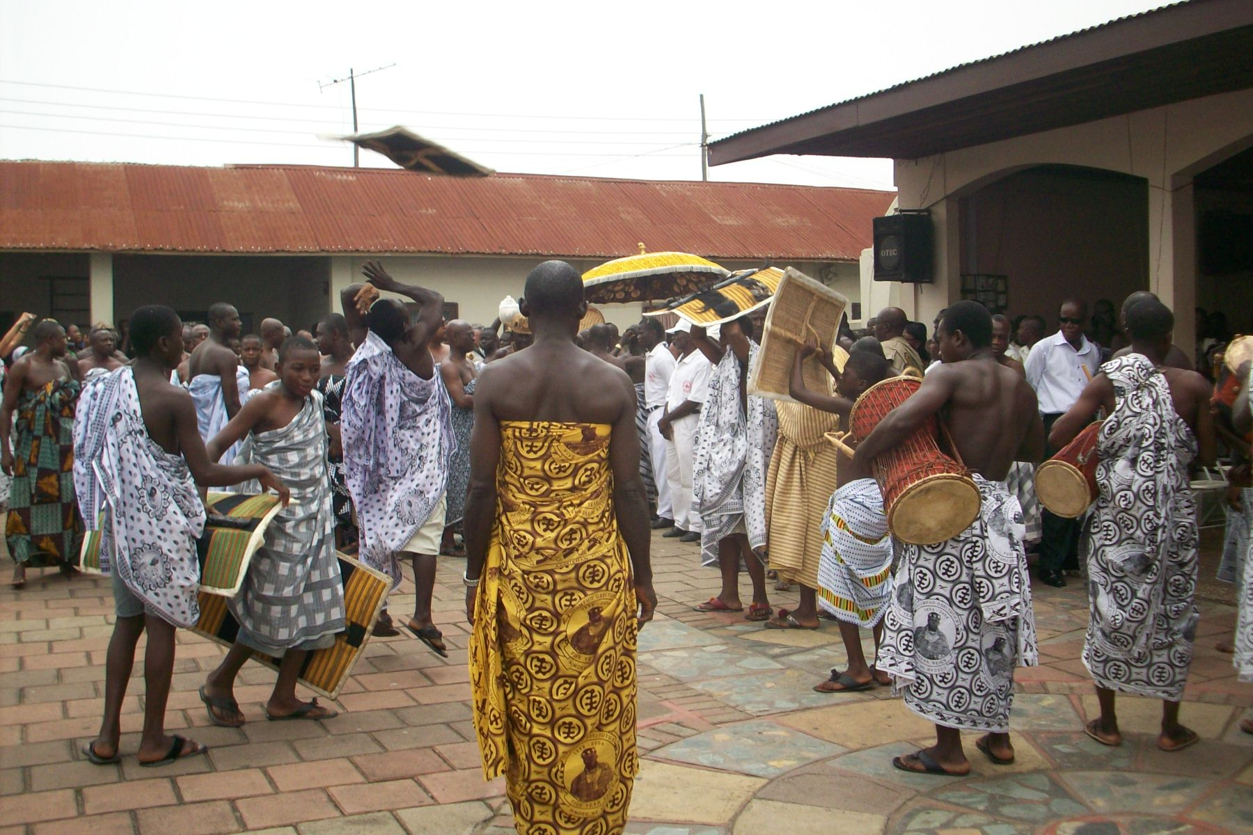 fanfare for the king The Great Akwasidae Festival Of The Asante People
