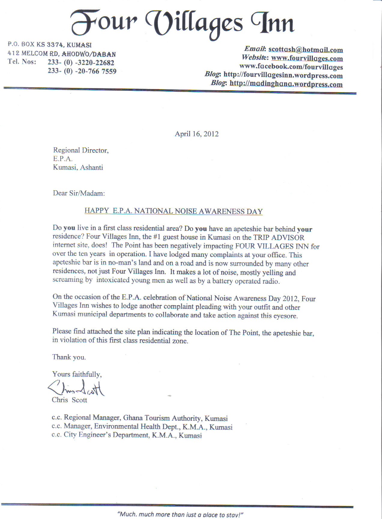 Condo association complaint letter to elevator company re sample complaint letter to hotel stopboris Gallery