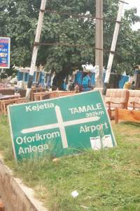 sign board down April 16, 2012