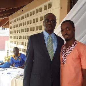 Courage and Dr. Kofi Amoah