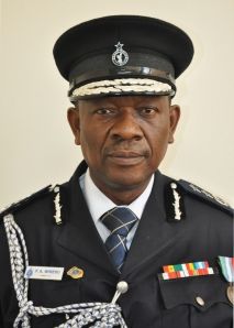 COP DR. PETER A. WIREDU (Ag Director of the Ghana Immigration Service)