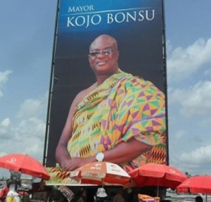 Kojo Bonsu, Kumasi mayor