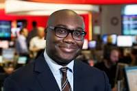 Komla Dumor, a Ghanaian BBC Presenter, of Focus on Africa