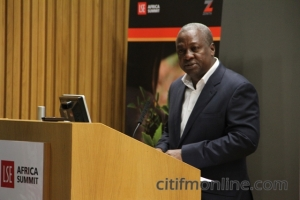 President Mahama at London School of Economics