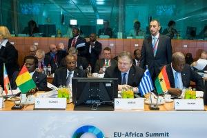 President Mahama @ EU-African summit