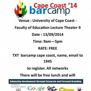 cape coast barcamp